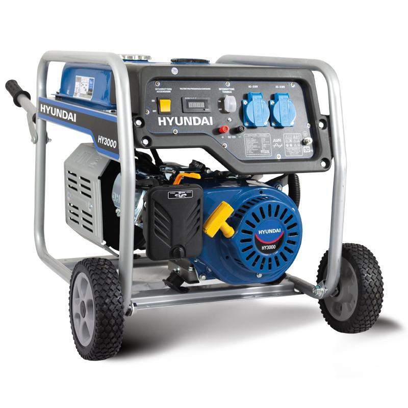HYUNDAY 65011 GENERATORE A BENZINA 4 TEMPI - 3,5 kW 230 V