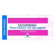 Tachipirina 125 mg supposte