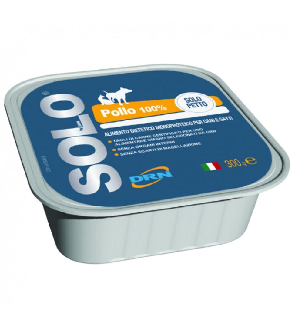 DRN - Solo Blu - Petto di Pollo - 300 g x 6 vaschette