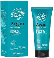 Doccia gel Argan nutriente emolliente 200ml Marco Viti