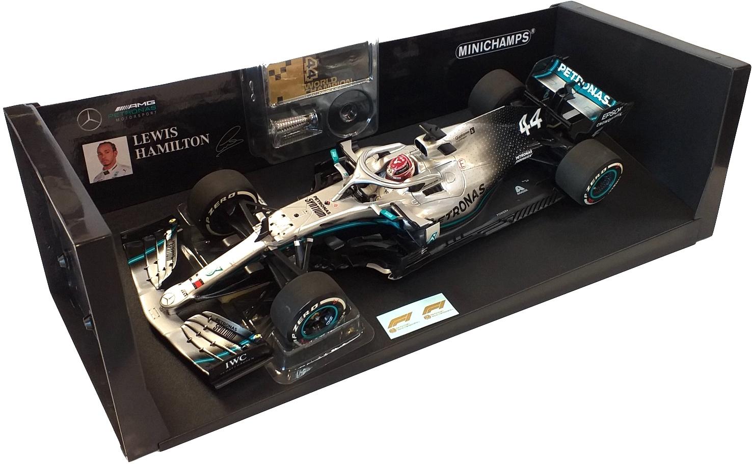 Louis Hamilton World Champion USA Gp 2019 Mercedes-AMG Petronas Motorsport 1/18