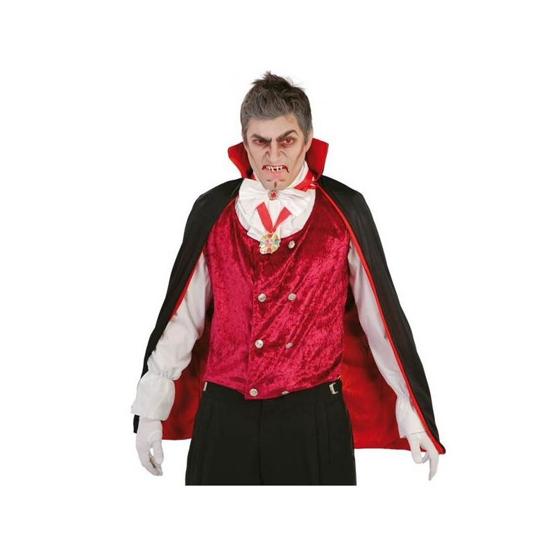 VAMPIRO Mantello Nero 90 cm HALLOWEEN