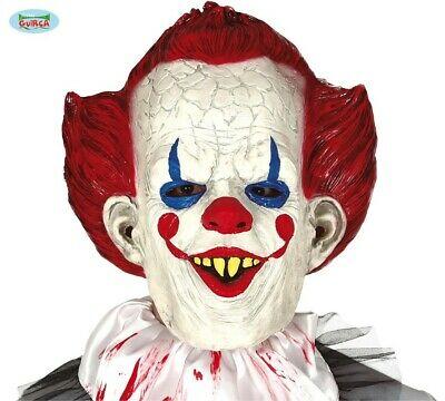 IT Maschera Clown Blu HALLOWEEN