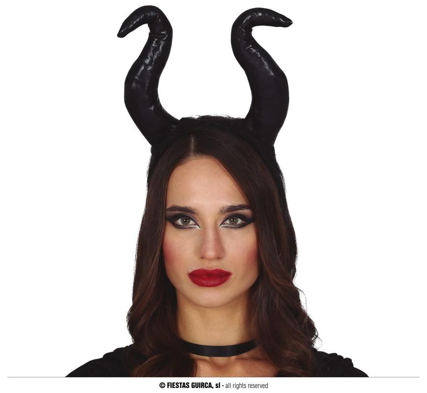 MALEFICENT Corna Nere HALLOWEEN