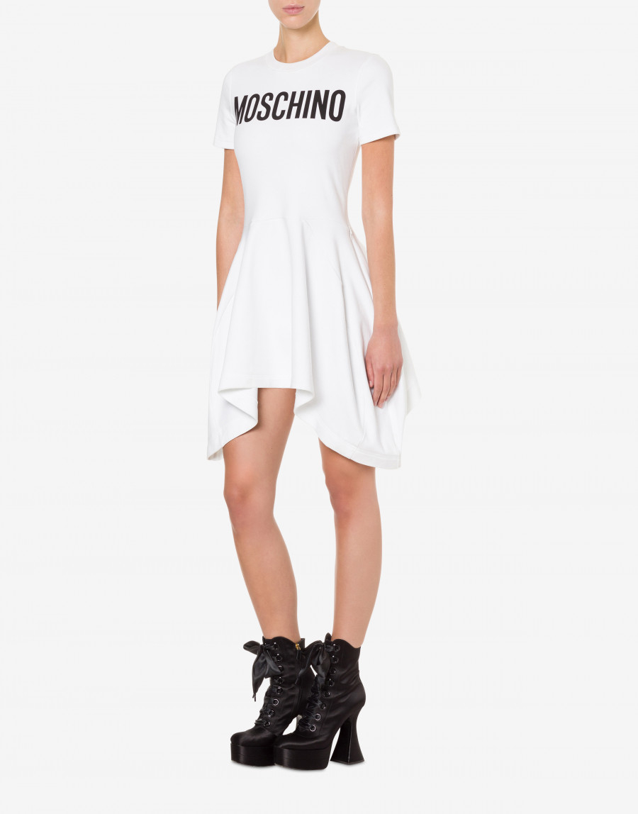 ABITO IN JERSEY MOSCHINO COUTURE