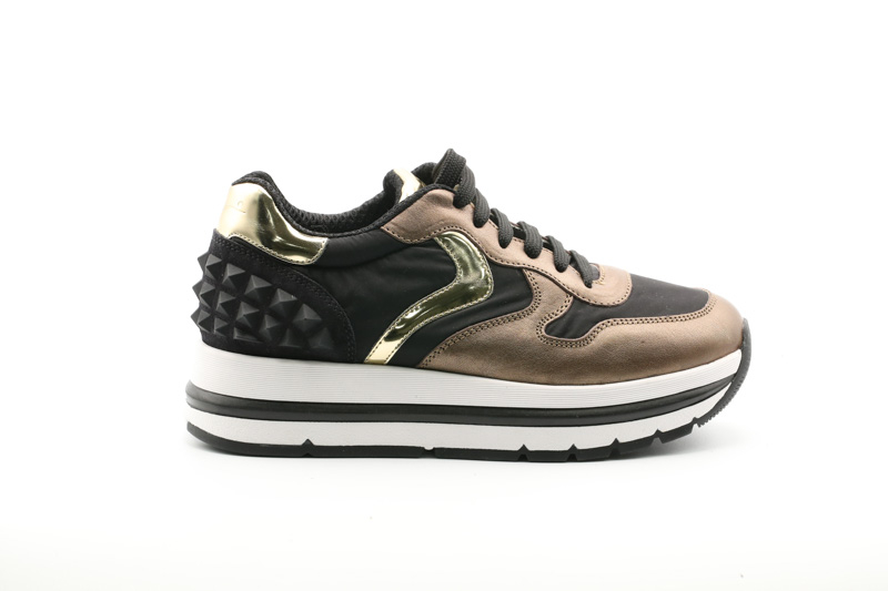 Voile Blanche-Sneakers Donna Marran Studs Goat Lux/Nylon Piuma 0012015229.01.1D85