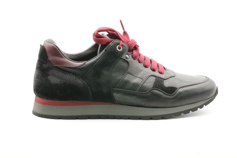 Exton-Sneakers Uomo Enna Nero/Anticato Nero 591