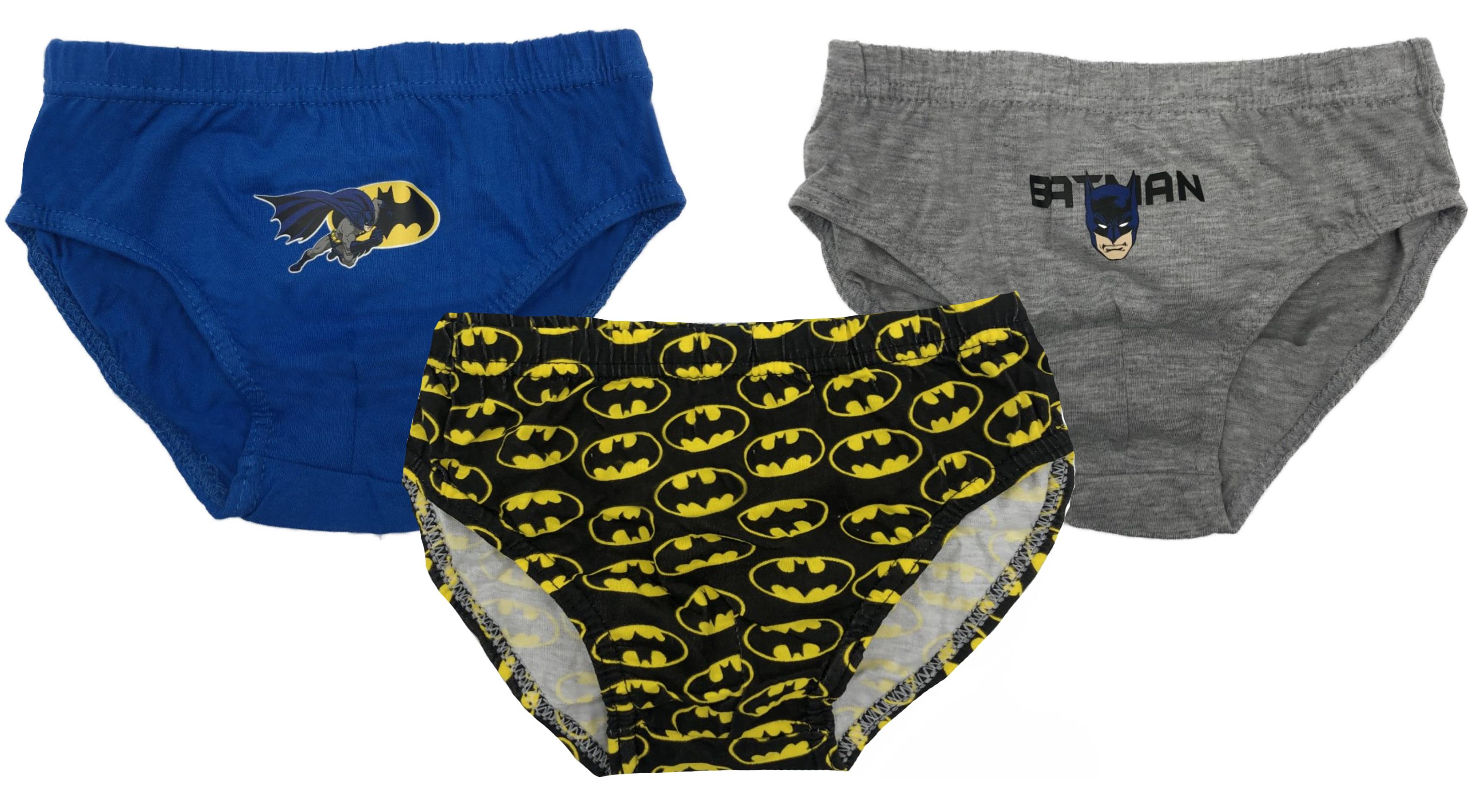N. 3 slip Batman Bambino 3-4 anni 5-6 anni 7-8 anni