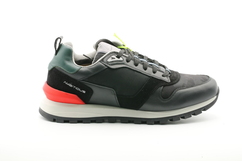 Ambitious-Sneakers Uomo Black 11083-3495AM.