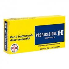 Preparazione H supposte