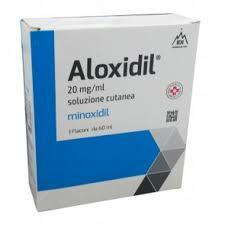 Aloxidil soluzione 3 flaconi 2% 60ml