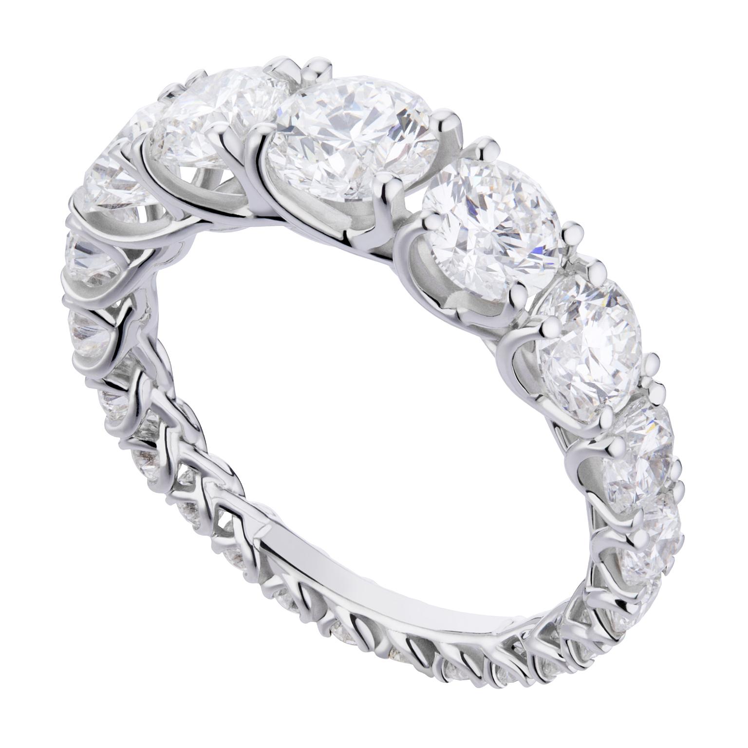 ANELLO ETERNITY GRACE A SCALARE, World Diamond Group