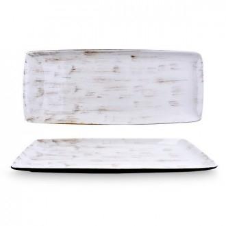 Cegeco Kratos Vassoio 25,5X13X5.Cm Bianco da Cucina