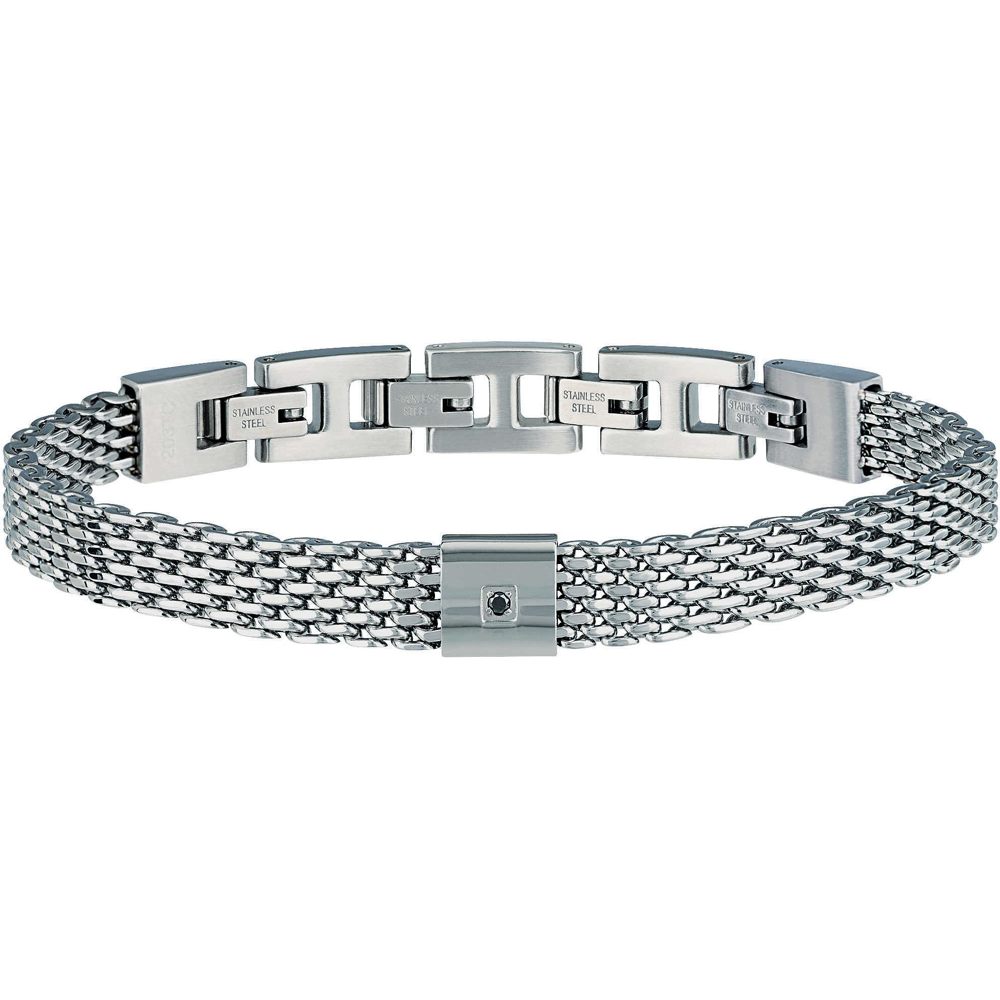Breil bracciale uomo gioielli Breil Black Diamond