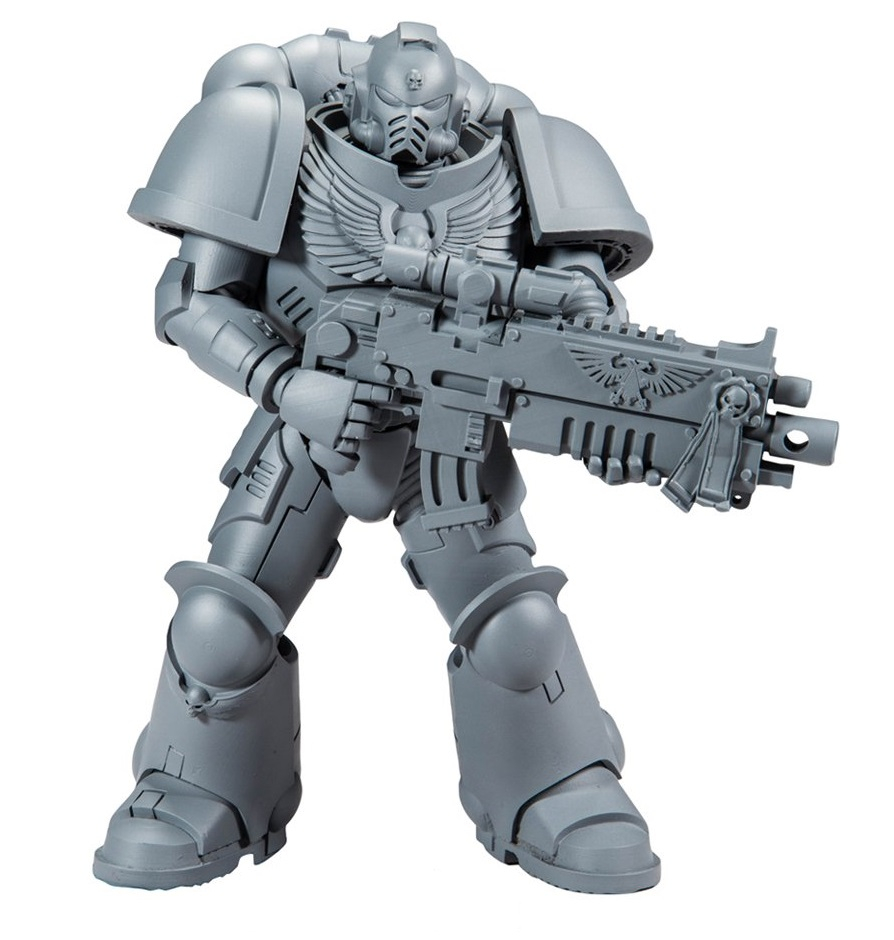Warhammer 40k: SPACE MARINE (unpainted) by McFarlane Toys