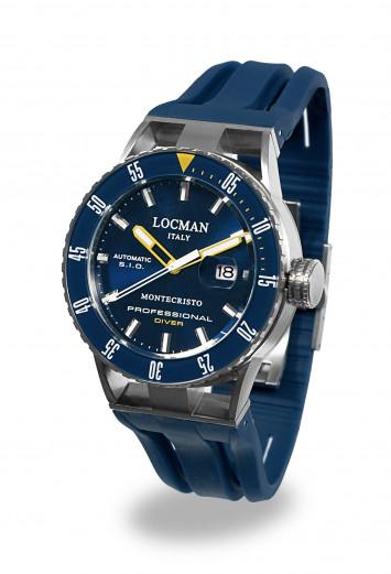Locman Montecristo Automatico Diver Blu