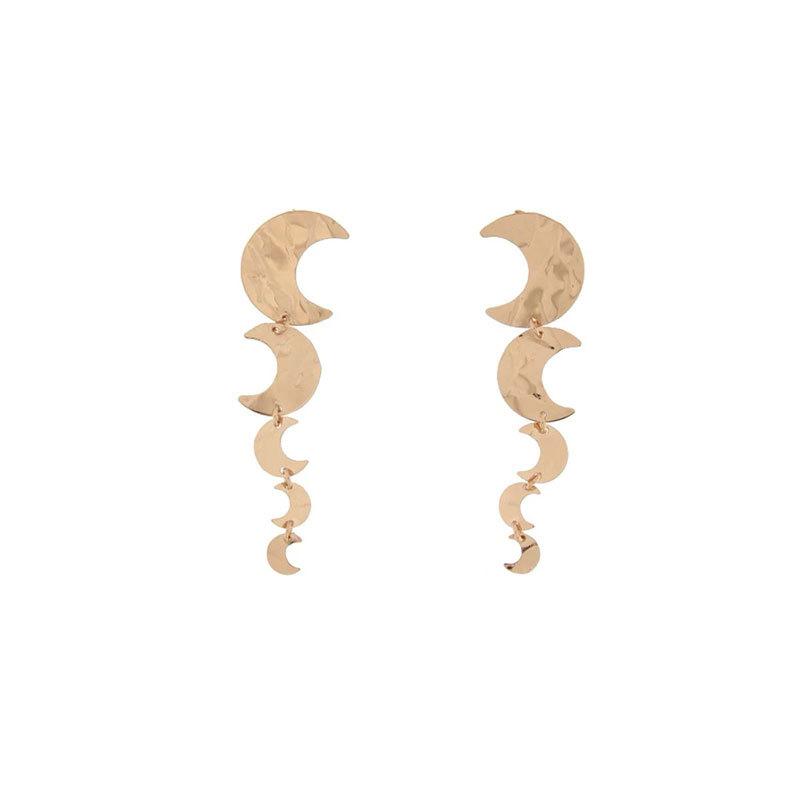 Orecchini pendenti - Goldenfall - 5 soggetti Luna