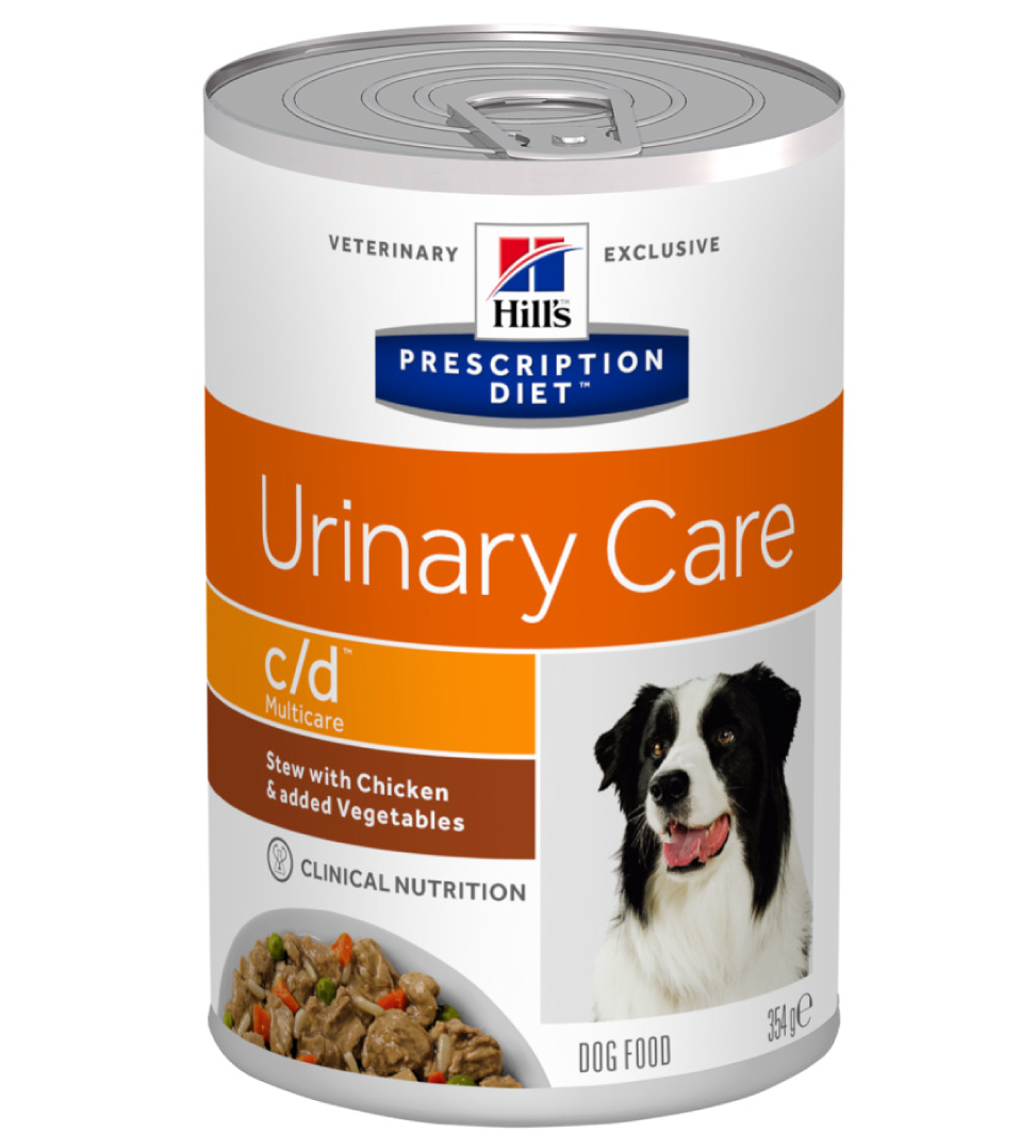 Hill's - Prescription Diet Canine - c/d Multicare Stew - 354g x 12 lattine