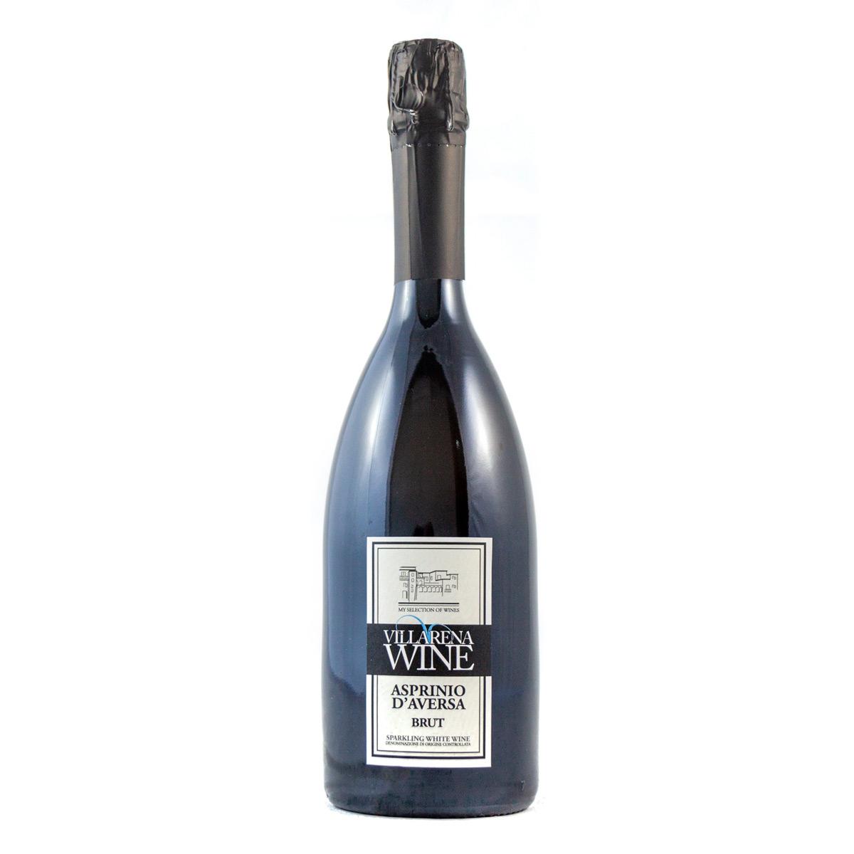 Vino Asprinio Aversa DOC Brut Spumante Bianco Villarena
