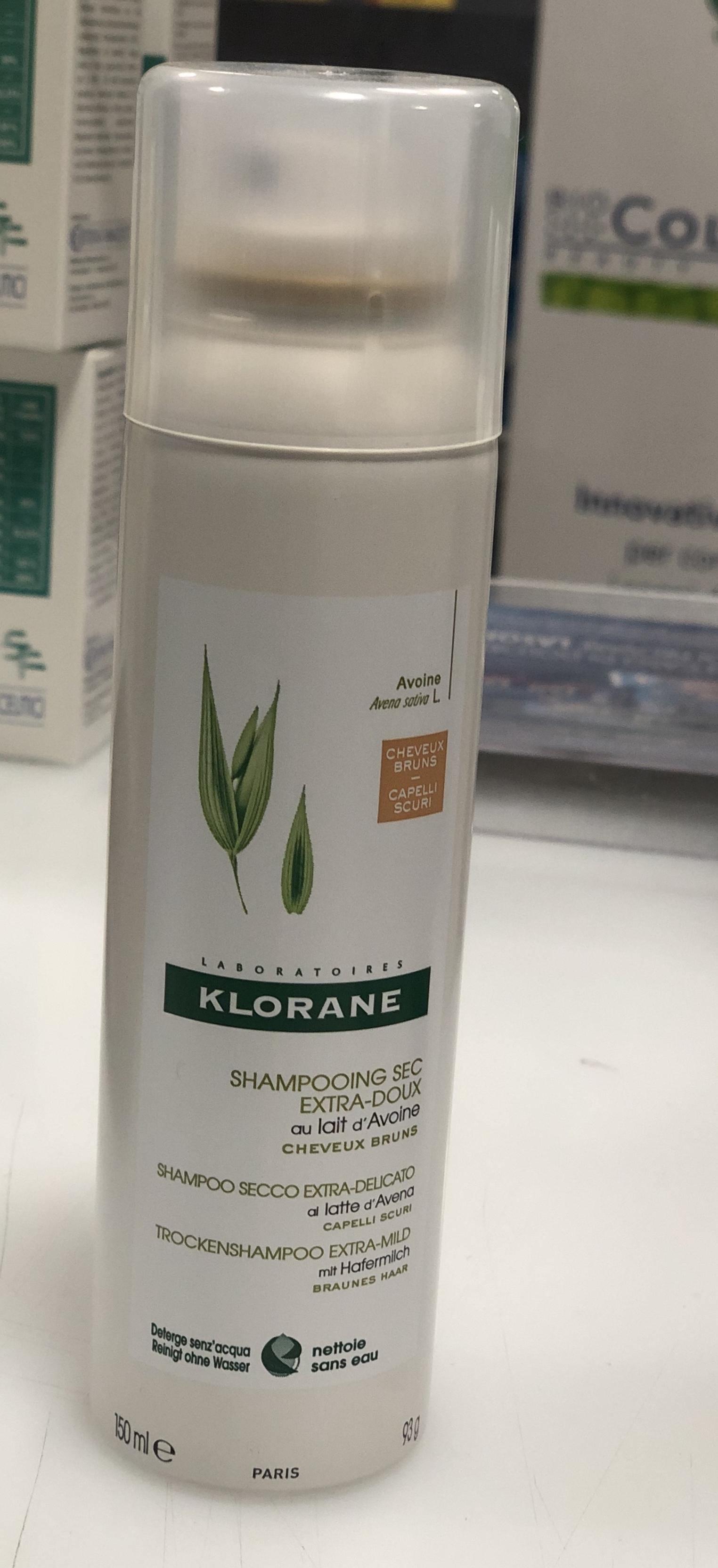 Klorane shampoo secco extra-delicato capelli scuri