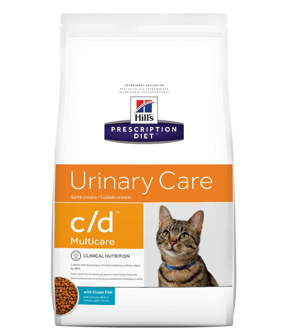 Hill's - Prescription Diet Feline - c/d - Pesce Oceanico - 1,5 kg