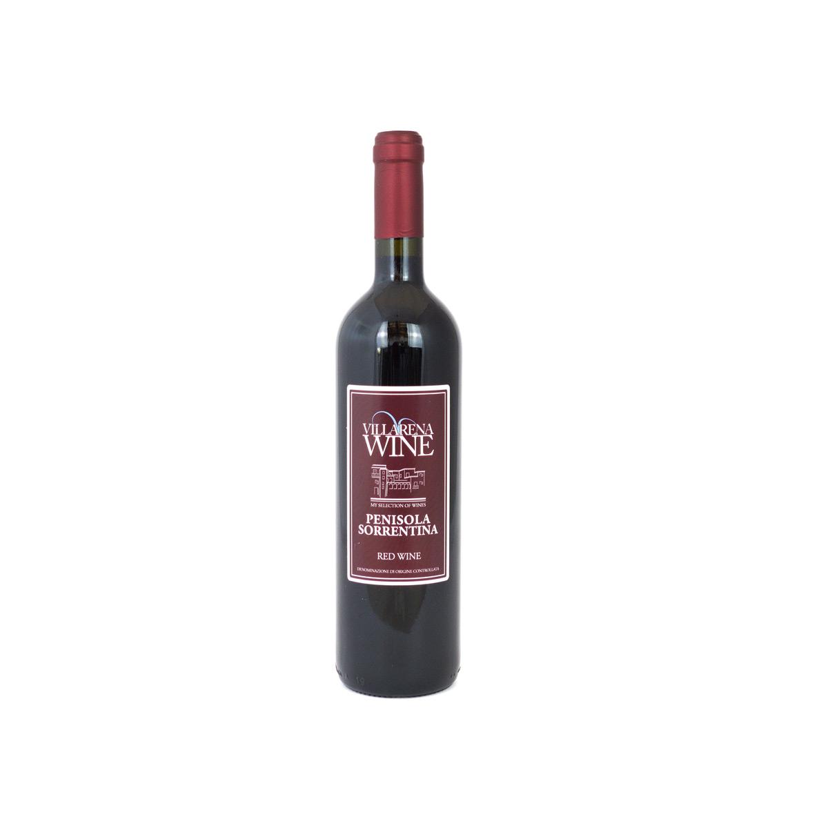 Vino Rosso Villarena  Penisola Sorrentina DOC