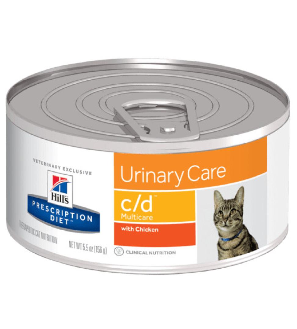 Hill's - Prescription Diet Feline - c/d -156g x 6