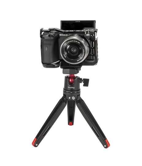 Vlogger Kit per Sony A6600 SA0006 - Cage + Treppiede
