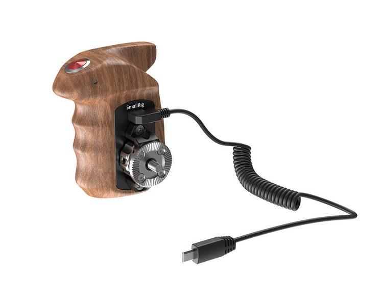 Maniglia Laterale Destra in Legno con Trigger per Sony HSR2511