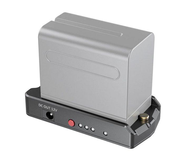 Piastra Adattatore per Batteria NP-F EB2504