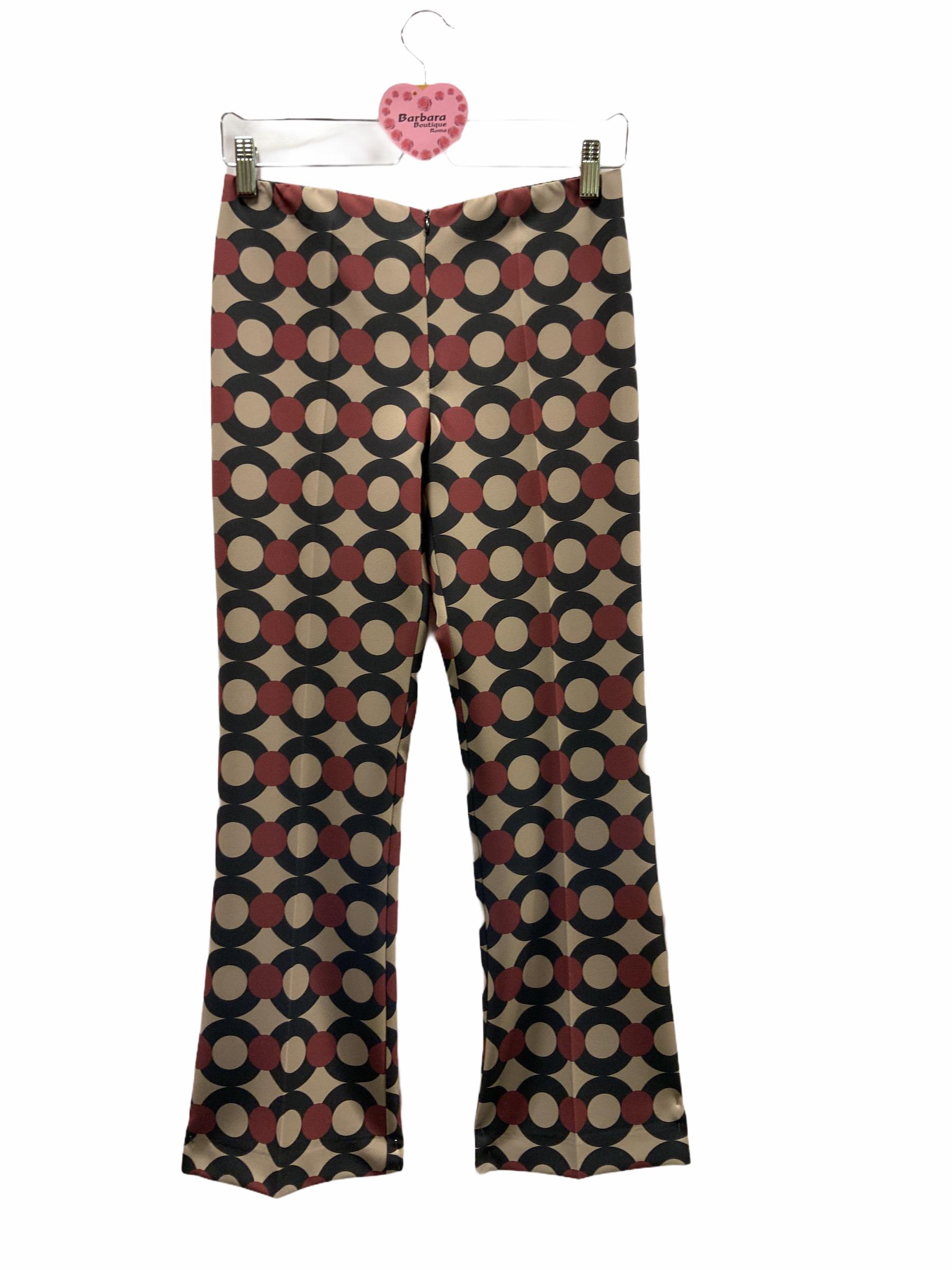 Pantalone zampetta cerchi