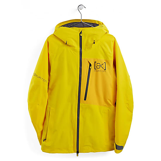 Giacca Burton M AK Goretex Cyclic Jacket Yellow