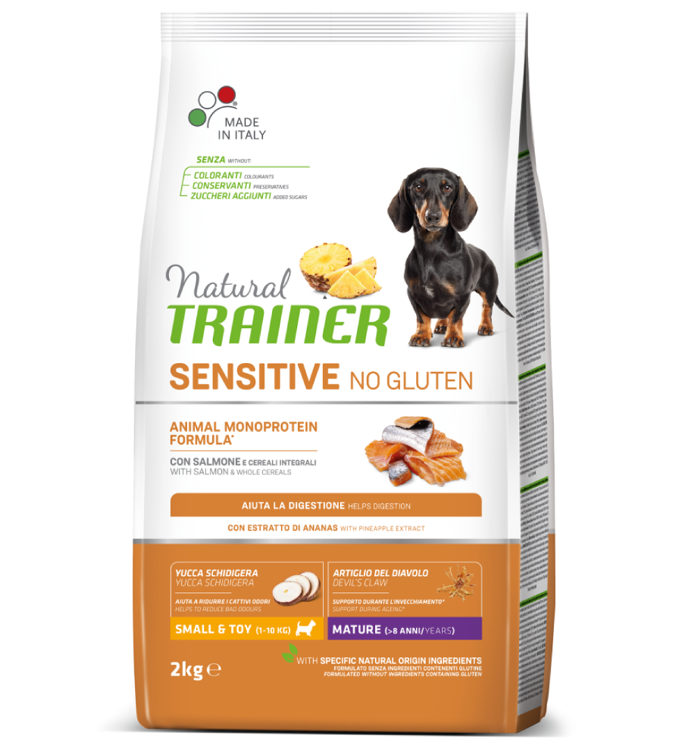 Trainer Natural Sensitive - Small&Toy - Mature - Salmone - 2 kg