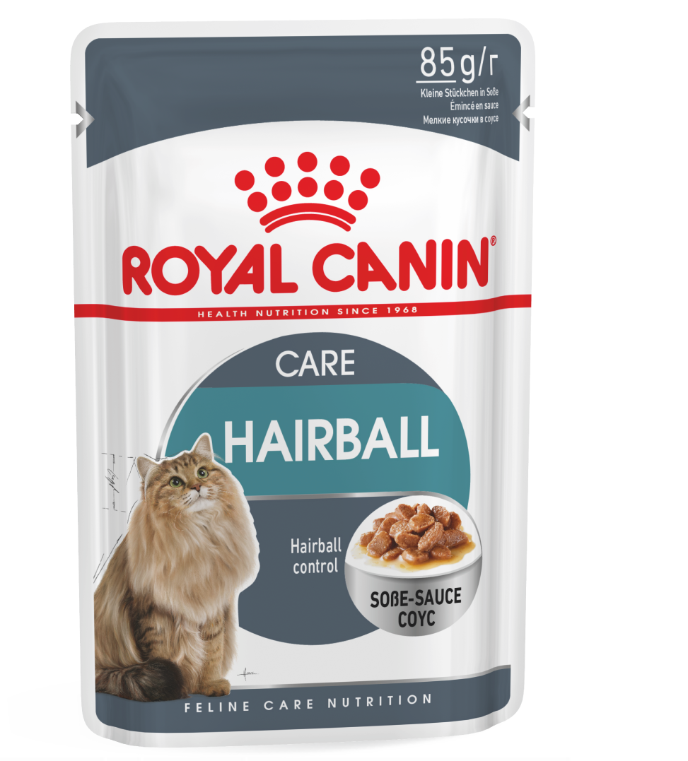 Royal Canin - Feline Health Nutrition - Hairball - BOX 12 buste 85g