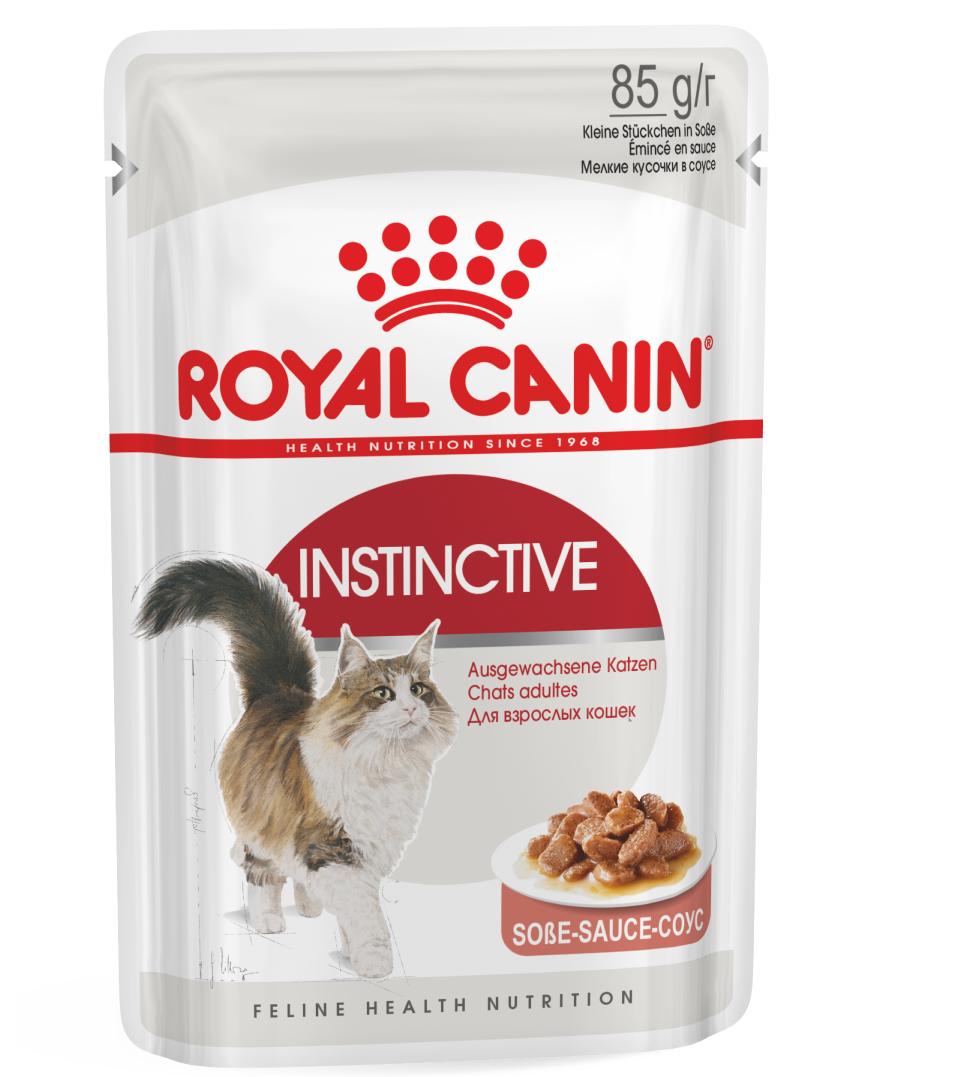 Royal Canin - Feline Health Nutrition - Instinctive - BOX 12 bustine 85g