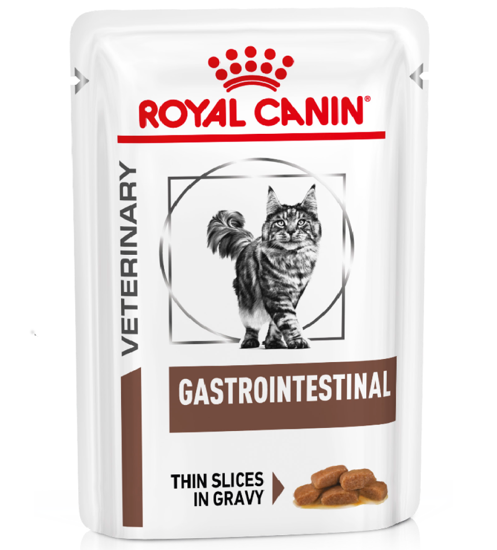Royal Canin - Veterinary Diet Feline - Gastrointestinal - BOX 12 bustine 85g