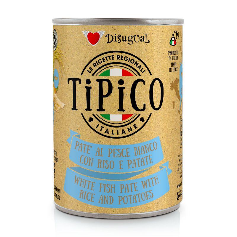 DISUGUAL - TIPICO - PESCE BIANCO CON RISO E PATATE - 400g