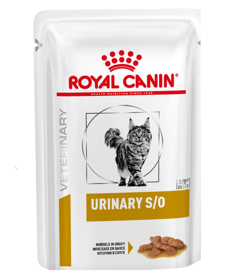 Royal Canin - Veterinary Diet Feline - Urinary S/O - BOX 12 buste 85g
