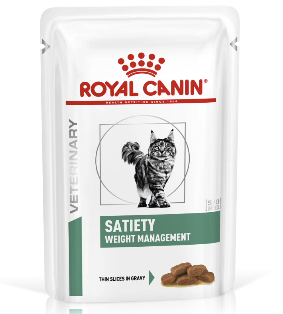 Royal Canin - Veterinary Diet Feline - Satiety Weight Management - BOX 12 bustine 85g
