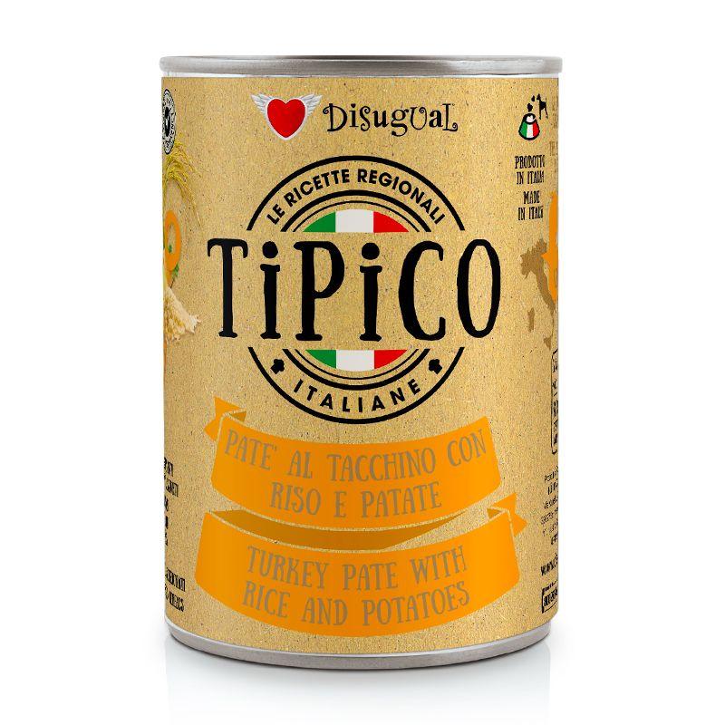 DISUGUAL - TIPICO - TACCHINO CON RISO E PATATE - 400g