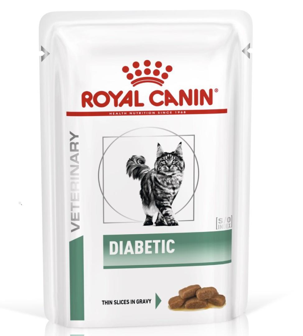 Royal Canin - Veterinary Diet Feline - Diabetic - BOX 12 bustine 85g