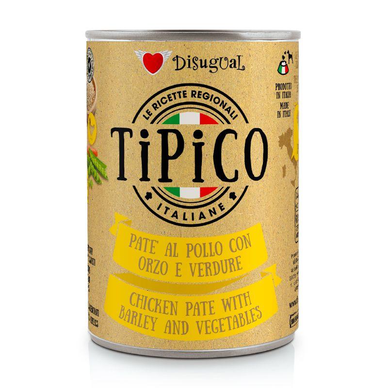 DISUGUAL - TIPICO - POLLO CON ORZO E VERDURE - 400g