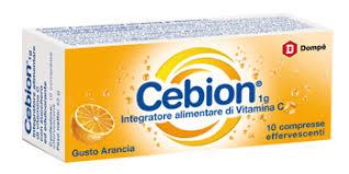 Cebion  Efferv. Vitamina C Arancia 10 compresse