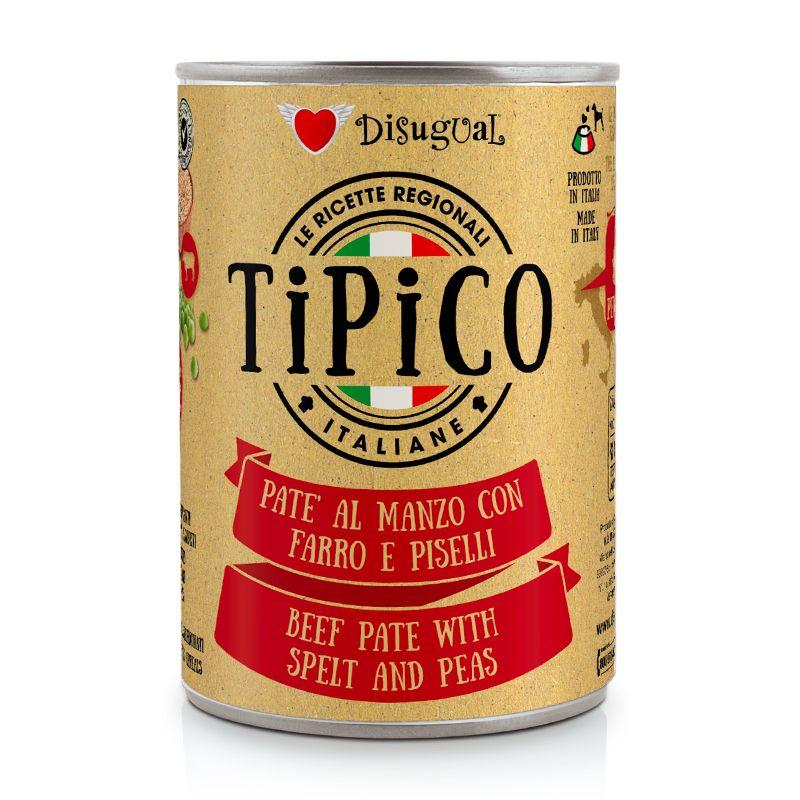 DISUGUAL - TIPICO - MANZO CON FARRO E PISELLI - 400g
