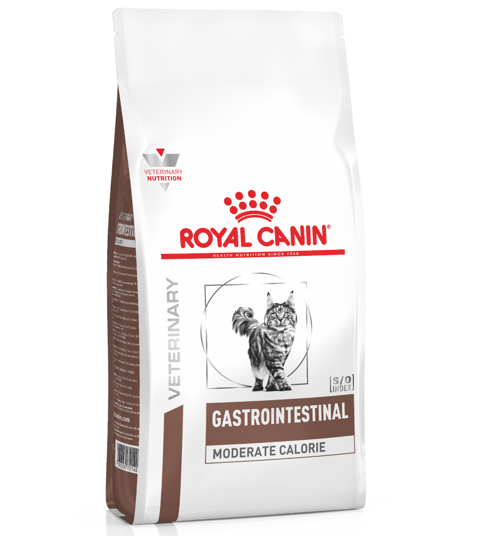 Royal Canin - Veterinary Diet Feline - Gastrointestinal Moderate Calorie - 2 kg