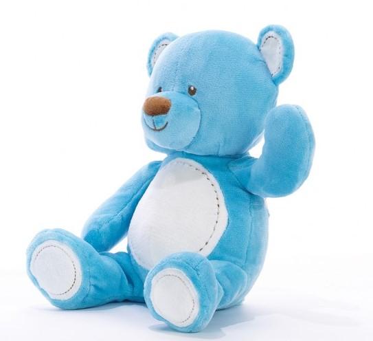 ORSO BABY AZZURRO Cm.29 07837 PLUSH & COMPANY
