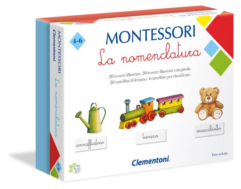 MONTESSORI - LA MOMEMCLATURA 16101 CLEMENTONI
