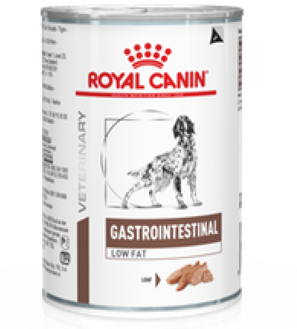 Royal Canin - Veterinary Diet Canine - Gastrointestinal Low Fat - 410g x 12 lattine