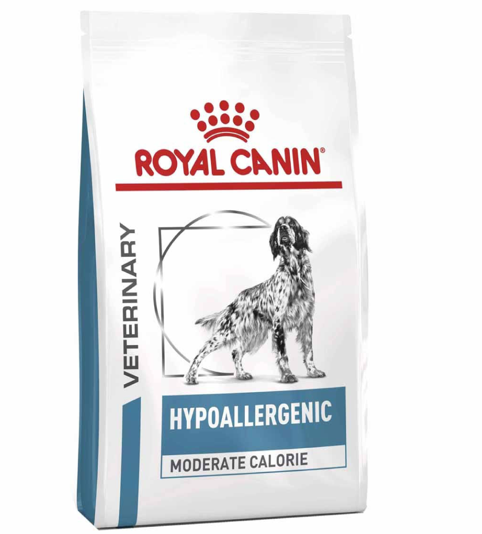 Royal Canin - Veterinary Diet Canine - Hypoallergenic Moderate Calorie - 7kg