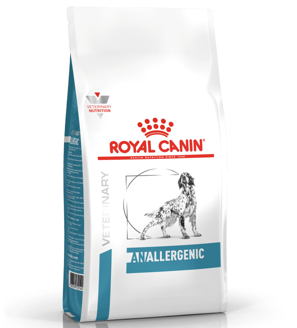 Royal Canin - Veterinary Diet Canine - Anallergenic - 3kg